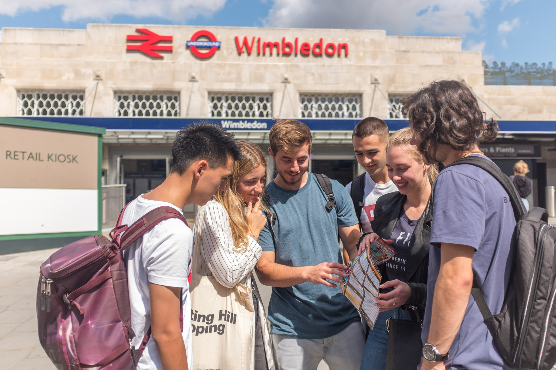 Learn English in Wimbledon
