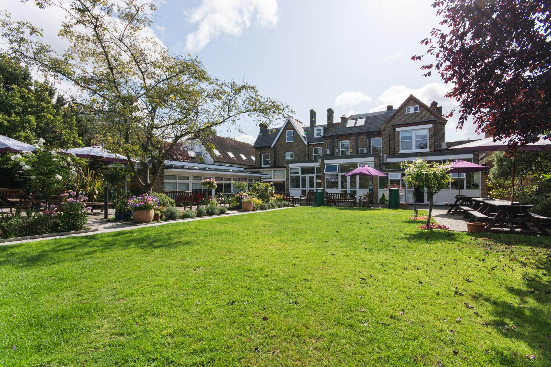 Garden at Wimbledon School of English